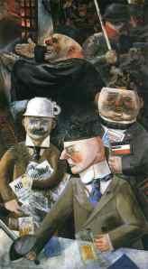 George Grosz - Shtyllat e shoqërisë, 1926