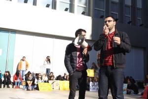 Nga protestat në FShS, Universiteti i Tiranës
